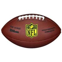 Football Wilson NFL Duke Replica American Football, Braun, Ofizielle Größe