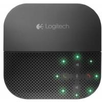 Konferenztelefon Logitech P710e mobile Speakerphone (Bluetooth, USB) schwarz