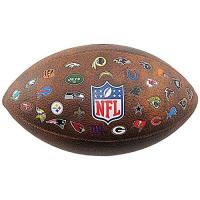Football Wilson NFL Official Throwback 32 Team Logo