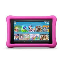 Fire Fire 7 Kids Edition-Tablet, 17,7 cm (7 Zoll) Display, 16 GB, pinke kindgerechte Hülle