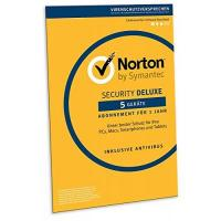 Virenscanner Norton Security Deluxe 2018 | 5 Geräte | 1 Jahr | PC/Mac/iOS/Android | Download