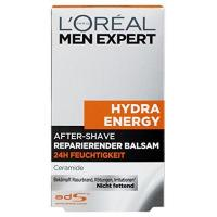 After Shave Lotion L'Oreal Men Expert Aftershave Balsam Hydra Energy, 100 ml; reparierende Lotion gegen Trockenheit