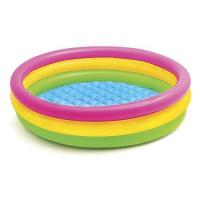 Kinderplanschbecken Intex 57412NP - Sunset Glow Baby Pool, 3-Ring, ø 114 x 25 cm