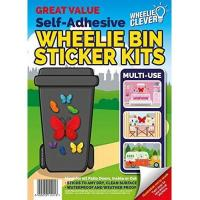 Mülltonnenaufkleber Wheelie Bin Stickers - Butterfly by Classic Sign & Design