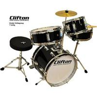 Schlagzeug Clifton Junior Kinder Schlagzeug Drum Set inkl. Hocker und Sticks