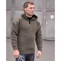Bundeswehr Pullover Mil-Tec Oesterr.Alpin Pullover Wolle Oliv Gr.54