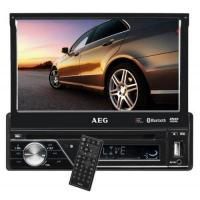 Autoradio Dvd AEG AR 4026 Autoradio (DVD/CD, 17,5 cm (7 Zoll) LCD-Display, Touchscreen, SD Kartenslot, USB) schwarz