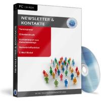 Newsletter Software Kontaktverwaltung Software - Newsletter und Kontakte, Etiketten, Serienbriefe