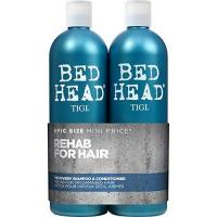 Shampoo ohne Silikone Tigi Bed Head Tween Recovery Shampoo + Conditioner je 750 ml