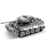 Tiger 1 Panzer Fascinations Metal Earth MMS203 - 502462, Tiger 1 Panzer, Konstruktionsspielzeug, 2 Metallplatinen, ab 14 Jahren