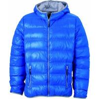James & Nicholson Herren Jacke Jacke Men's Jacket blau (blue/silver) XXX-Large