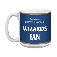 Tree-Free Greetings Baumfreie Grüße xm28169 Wizards Basketball Fan Künstlerische Jumbo Tasse, 591 ml