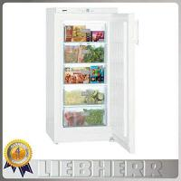 Gefrierschrank Liebherr Liebherr GP2033 Freestanding SmartFrost 156 litre Comfort Freezer White with Automatic SuperFrost Function and VarioSpace, Reversible Door, 60cm Width