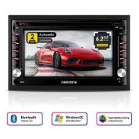 Autoradio Dvd 2DIN Autoradio CREATONE V-336DG mit GPS Navigation (Europa), Bluetooth, Touchscreen, DVD-Player und USB/SD-Funktion