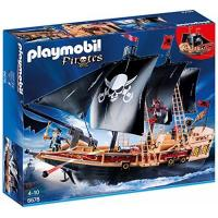 Playmobil Piratenschiff PLAYMOBIL 6678 - Piraten-Kampfschiff