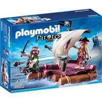 Playmobil Piratenschiff PLAYMOBIL 6682 - Piratenfloß