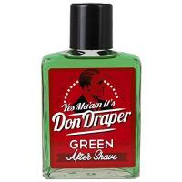 Rasierwasser Don Draper Green Aftershave