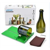 Glasschneider New Bottle Cutter, AGPtek Glasflasche Cutter Scoring-Maschine Ausschnitt-Tool zum Erstellen von Stained Glass, Flaschen Pflanzmaschinen, Flaschen Lampen, Kerzenständer