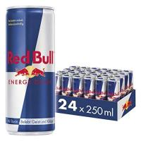 Energy Drink Red Bull Energy Drink 24 x 250 ml Dosen Getränke 24er Palette