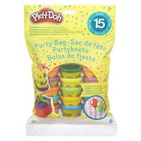 Party Gastgeschenke Hasbro Play-Doh 18367EU4 - Partyknete mit Stickern, Knete