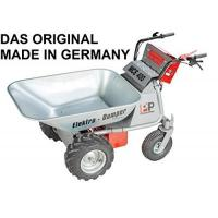 Elektroschubkarre DAS ORIGINAL - MADE IN GERMANY - POWERPAC MCE400 mit 110ltr. Mulde - AKKUSCHUBKARRE ELEKTROSCHUBKARRE SCHUBKARRE DUMPER MOTORSCHUBKARRE