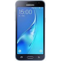 Samsung Handy Samsung Galaxy J3 DUOS Smartphone (12,63 cm (5 Zoll) HD Super-AMOLED-Touchscreen, 8 GB, Android 5.1 Lollipop) schwarz