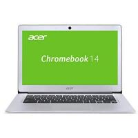 Chromebook Acer Chromebook 14 CB3-431-C6UD 35,6 cm (14 Zoll Full HD IPS matt) Notebook (Intel Celeron N3160, 4GB RAM, 32GB eMMC, Intel HD Graphics, Google Chrome OS) silber
