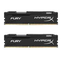 DDR4-RAM Kingston HyperX Fury DDR4 HX424C15FB2K2/16 RAM Kit 16GB (2x8GB) (2400MHz DDR4 CL15 DIMM)