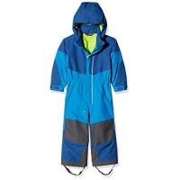 Skioverall Vaude Kinder Suricate Overall II, Hydro Blue/Green, 110/116