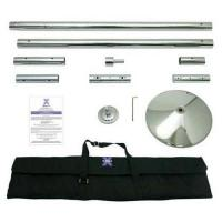 Poledance Stange X Pole XPert 45mm Chrome - Static And Spinning - Professional Pole Dancing Kit