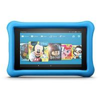 Kinder Computer Fire HD 8 Kids Edition-Tablet, 20,3 cm (8 Zoll) HD Display, 32 GB, blaue kindgerechte Hülle