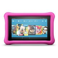 Kinder-Computer Fire HD 8 Kids Edition-Tablet, 20,3 cm (8 Zoll) HD Display, 32 GB, pinke kindgerechte Hülle