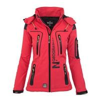 Babystaff Geographical Norway Damen Softshell Funktions Outdoor Regen Jacke Sport [GeNo-20-Corail-Gr.L]
