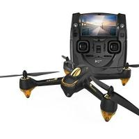 Drohne mit GPS Hubsan H501S X4 Brushless FPV GPS Quadrocopter 5.8 Ghz Drohne mit 1080P Full HD Kamera und Follow-Me Modus RTH-Funktion Schwarz&Gold