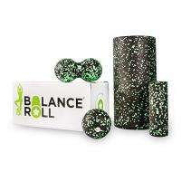 Pilates Rolle Balance Roll - Komplett Set - Faszienrolle - Made in Germany (Rolle groß, Rolle klein, Ball & Duoball)