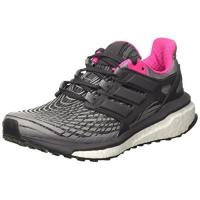 Adidas Damen Laufschuh adidas Damen Energy Boost Laufschuhe, Grau (Grey Three/Utility Black/Grey Four), 39 1/3 EU