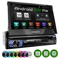 Autoradio Dvd XOMAX XM-DA708 Autoradio mit Android 7.1.1, 2GB RAM, Quad-Core I WiFi, 3G, DAB+, OBD2 Support I GPS Navigation, Bluetooth I 7