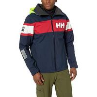 Segeljacke Helly Hansen Herren Trainingsjacke Salt Jacket, Blau (Azul Navy 597), Large