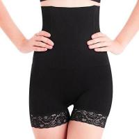 Shapewear SURE YOU LIKE Damen Figurenformend Miederpants Miederhose Shapewear Bauch-Weg-Effekt Formt Sofort Body Shaper (Tag XL/XXL=size EU(42-46), Schwarz)