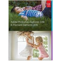 Bildbearbeitungsprogramm Adobe Photoshop Elements 2018 & Premiere Elements 2018 | Standard | PC/Mac | Disc