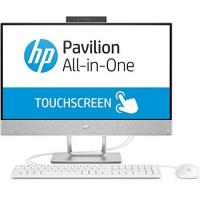All-in-One-PC HP Pavilion 24-x051ng 60,96 cm (24 Zoll Touchscreen) All in One Desktop-PC (Windows 10, i7, 256GB SSD, 2TB HDD, 16GB RAM) weiß