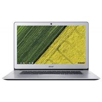 Chromebook Acer Chromebook 15 (CB515-1HT-P58C) 39,6 cm (15,6 Zoll Full-HD IPS matt) Chromebook (Intel Pentium N4200 Quad-Core, 8GB RAM, 64GB eMMC, Intel HD, USB 3.1 Type-C, USB 3.0, QWERTZ, Chrome OS) silber, (Aluminium A- und C-Cover)