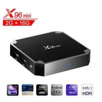 Internet TV-Box X96 Mini Smart TV Box Android, 7.1, Wingogo 2GB 16GB AMLOGIC Quad Core 2.4GHz WiFi 4 K Smart Set Top Box