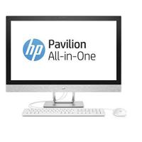 All-in-One-PC HP Pavilion 27-r061ng 68,6 cm (27 Zoll / 4K-IPS) All-in-One Desktop-PC (Intel Core i7-7700T, 128GB SSD, 1TB HDD, 16GB RAM, AMD Radeon 530 Grafik, Windows 10) weiß