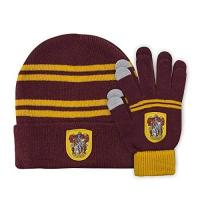 Harry Potter Schal Cinereplicas Harry Potter - Mütze & Handschuhe Set - Kinder (Gryffindor)