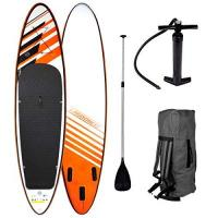 SUP-Paddel SUP Board Stand up Paddling Surfboard CRUISER 300x76x15cm aufblasbar Double-Layer Alu-Paddel Hochdruck-Pumpe Transportrucksack Paddle