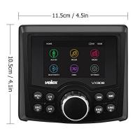 Lautsprecher für Boote Marine Stereo, Audio-Video-Player DAB +/FM/AM mit Bluetooth Streaming, für Yacht, Boot, UTV, ATV, Power Sport, SPA
