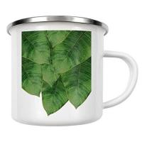 Digital Media Studio artboxONE Emaille Tasse Palm Leaves von Orara Studio - Emaille Becher Floral