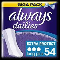 Slipeinlagen Always Extra Protect Slipeinlagen, Long Plus, 1er Pack (1 x 54 stück)