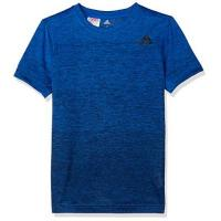 adidas Jungen Training Grad Kurzarm T-Shirt, Blue/Collegiate Navy, 164